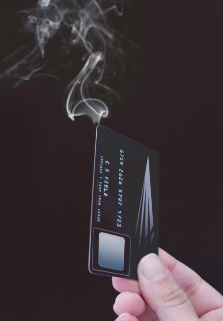 smoking credit card